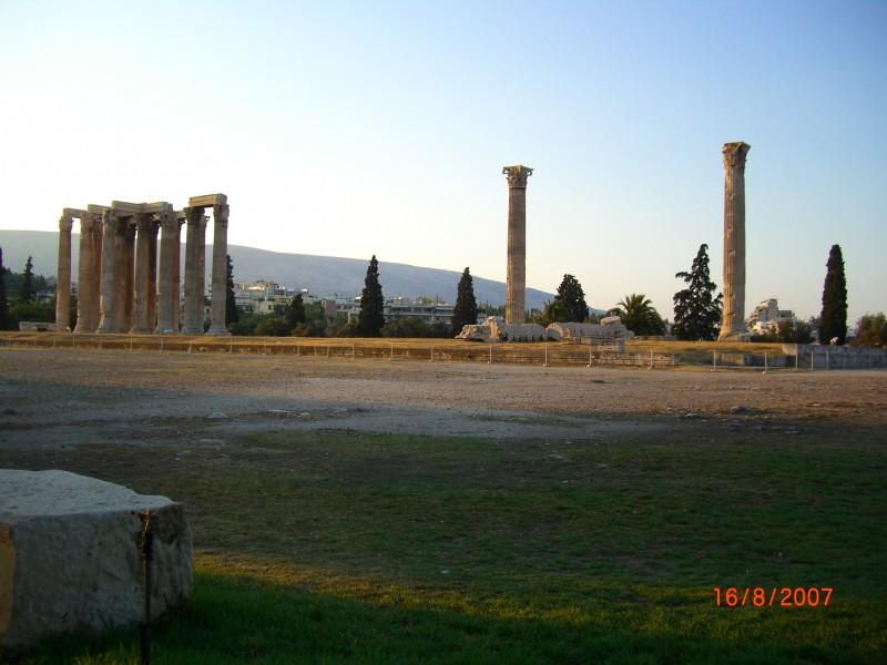 Развалины Зевса