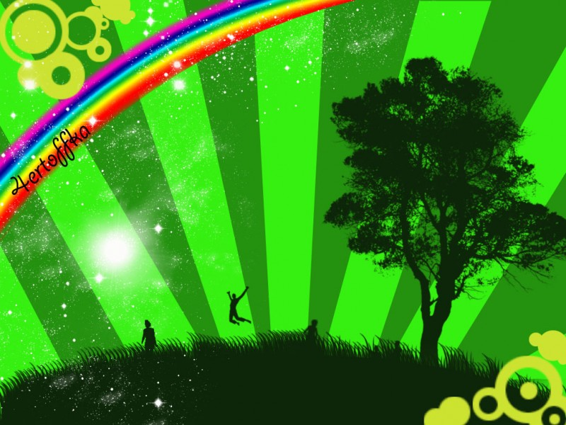люблю я зеленый цвет =)