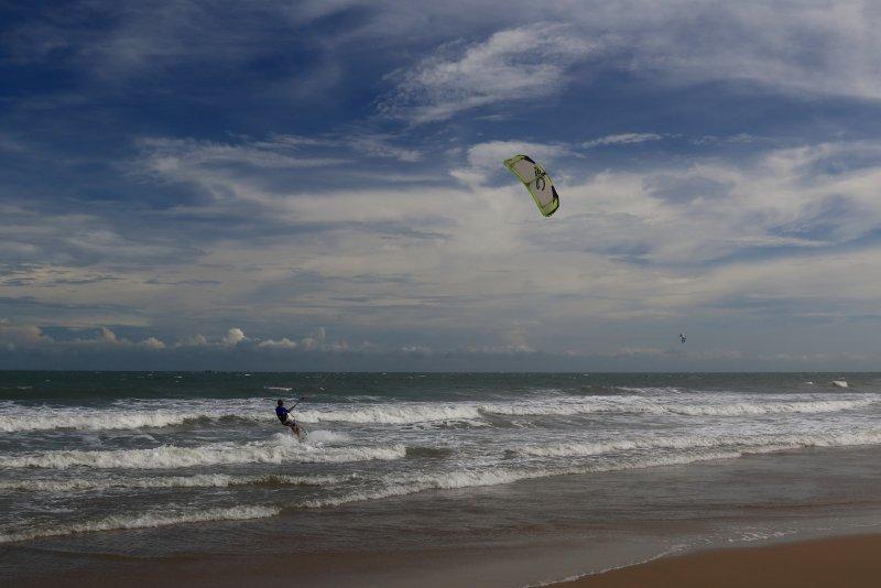 Волны и ветер