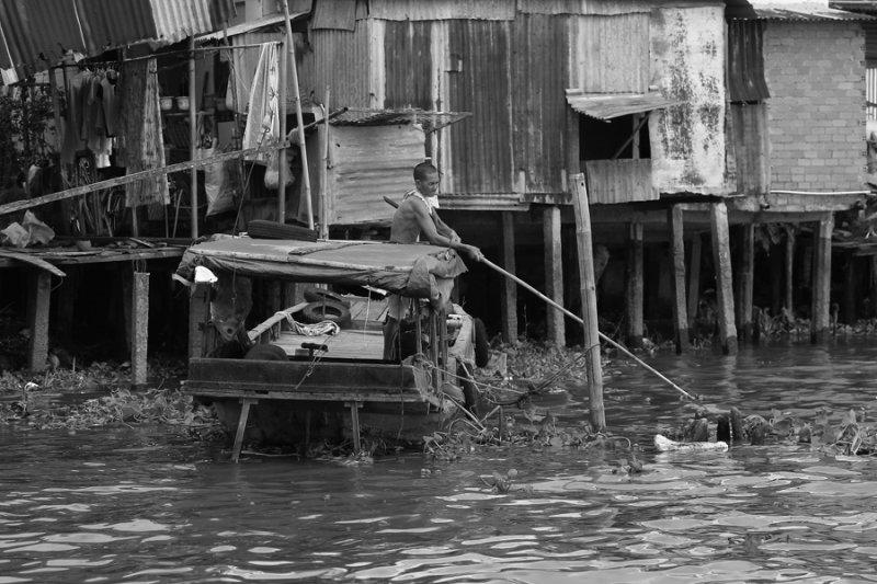 Жизнь на реке
