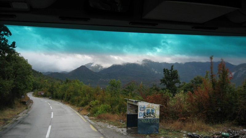 The road to Ostrog