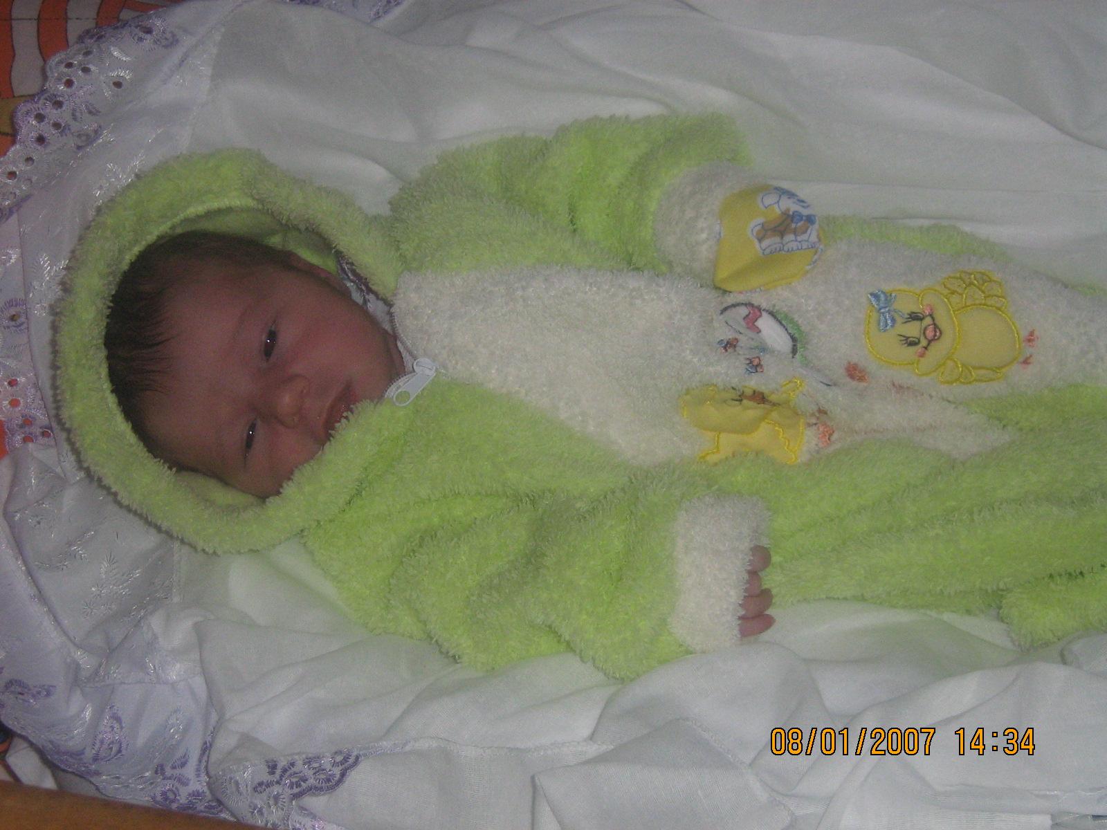 Фото ребенка из роддома зимой