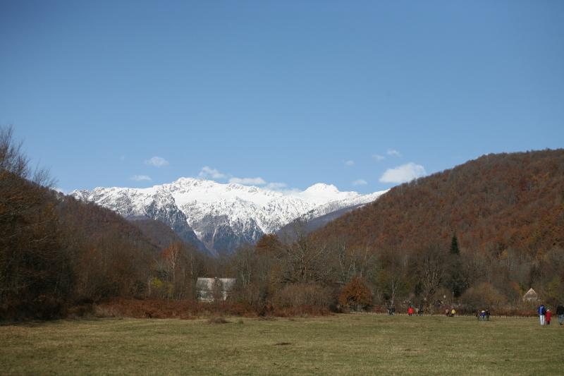 Псху - горное село в Абхазии