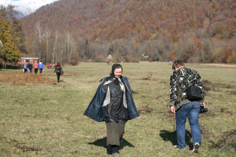 Горное село Псху