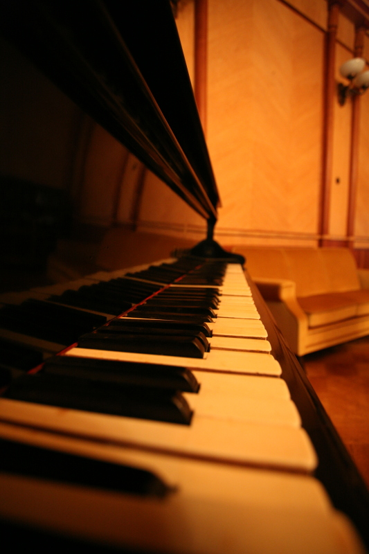 Фортепиано на даче Сталина