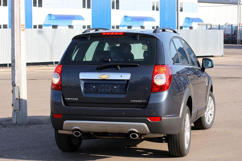 Chevrolet Captiva фото