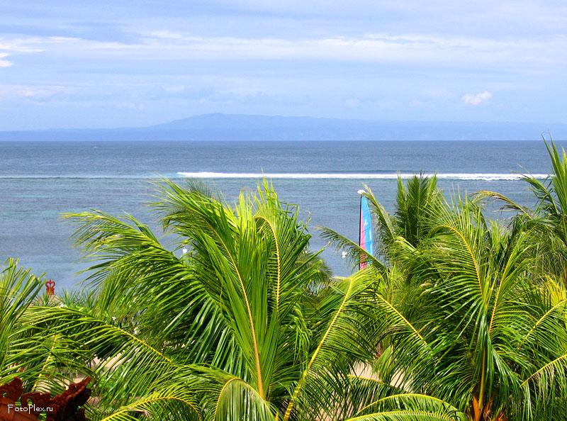 Пляж на Бали, Индонезия