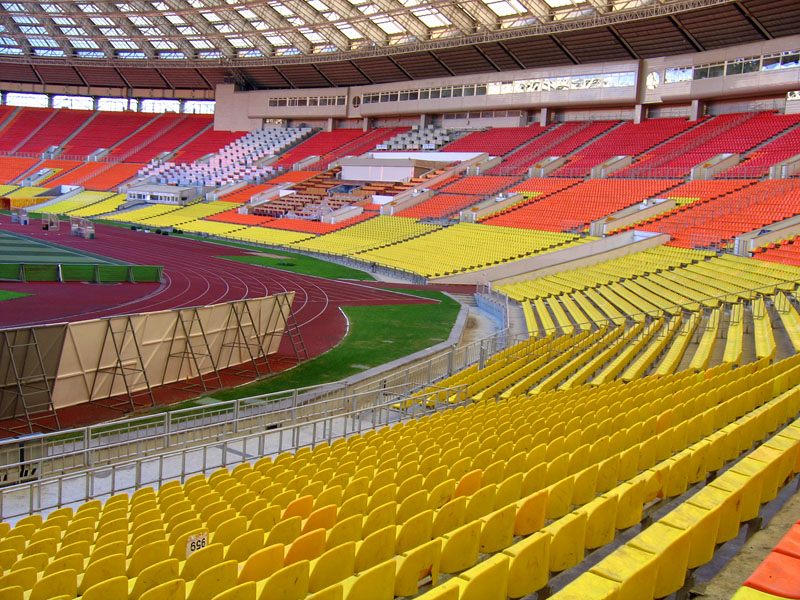 """Стадион  """"Лужники """" перестанет принимать матчи чемпионата России с мая 2013 года.  Об этом сообщил генеральный директор..."""