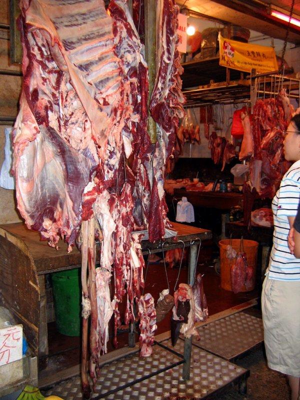 Гонконг - мясные ряды