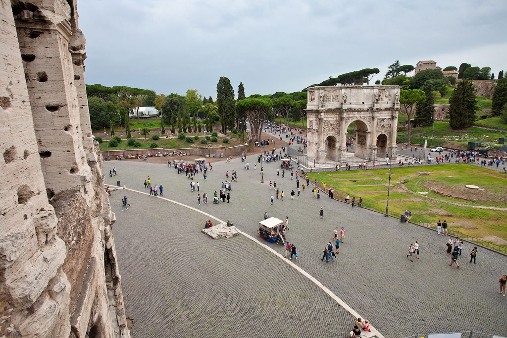 Вид с Колизея