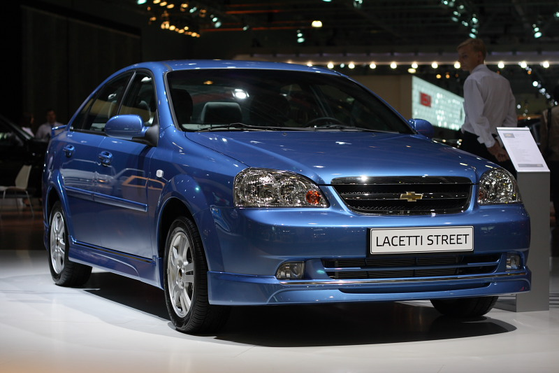 Седан Lacetti Street Edition