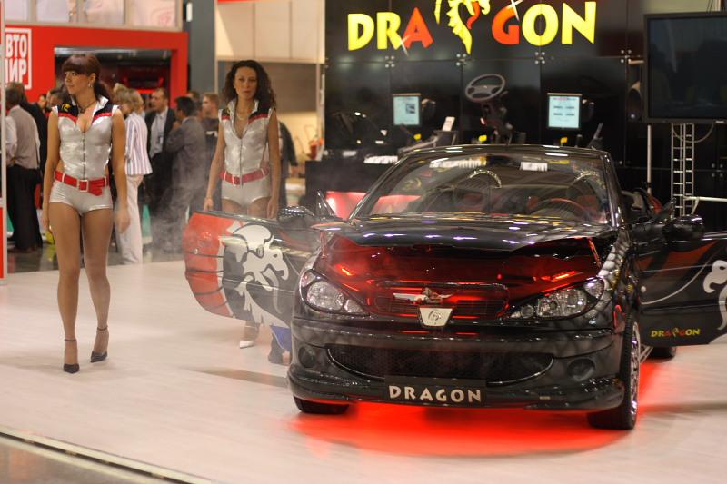 Dragon на Peugeot
