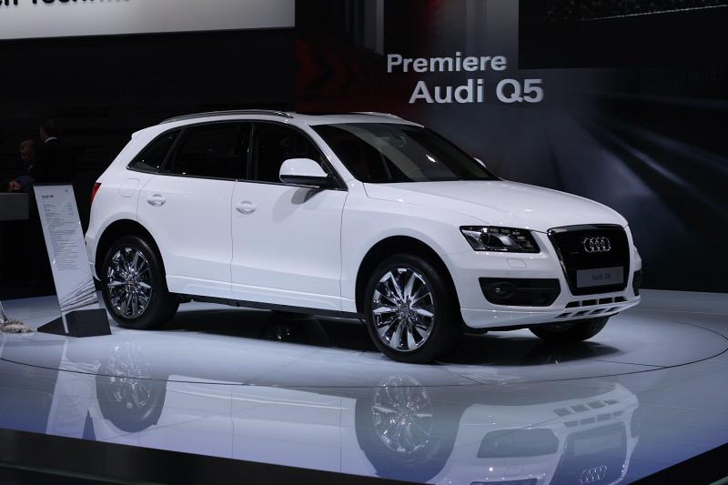 Audi Q5 Премьера