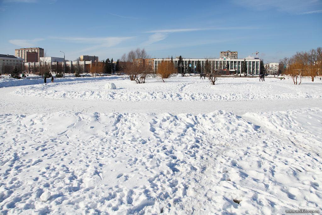 Зимний день в Одинцово