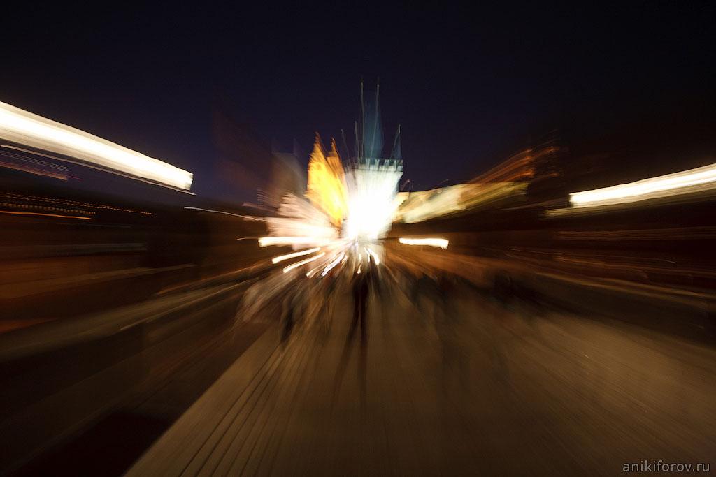 Карлов мост - абстракция