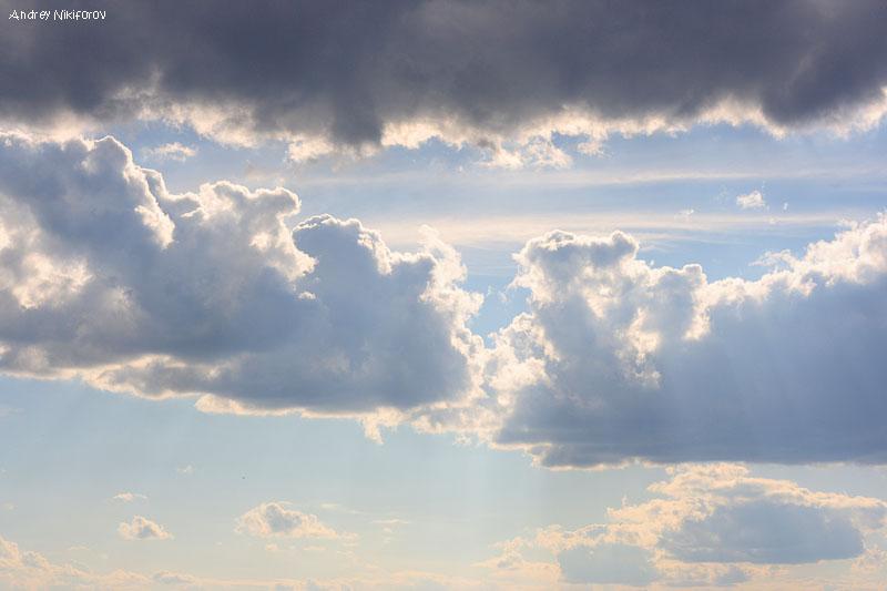 Небо над Верхнерузским Водохранилищем