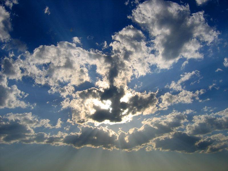 Небо!