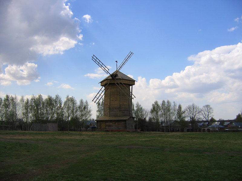 Ветряная мельница фото