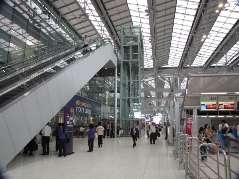 Suvarnabhumi - Международный аэропорт в Бангкоке