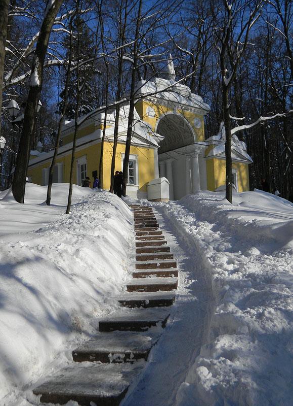зимнее утро в царицыно / michail novikov