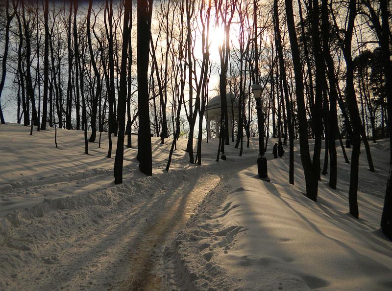 Солнце в Царицыно