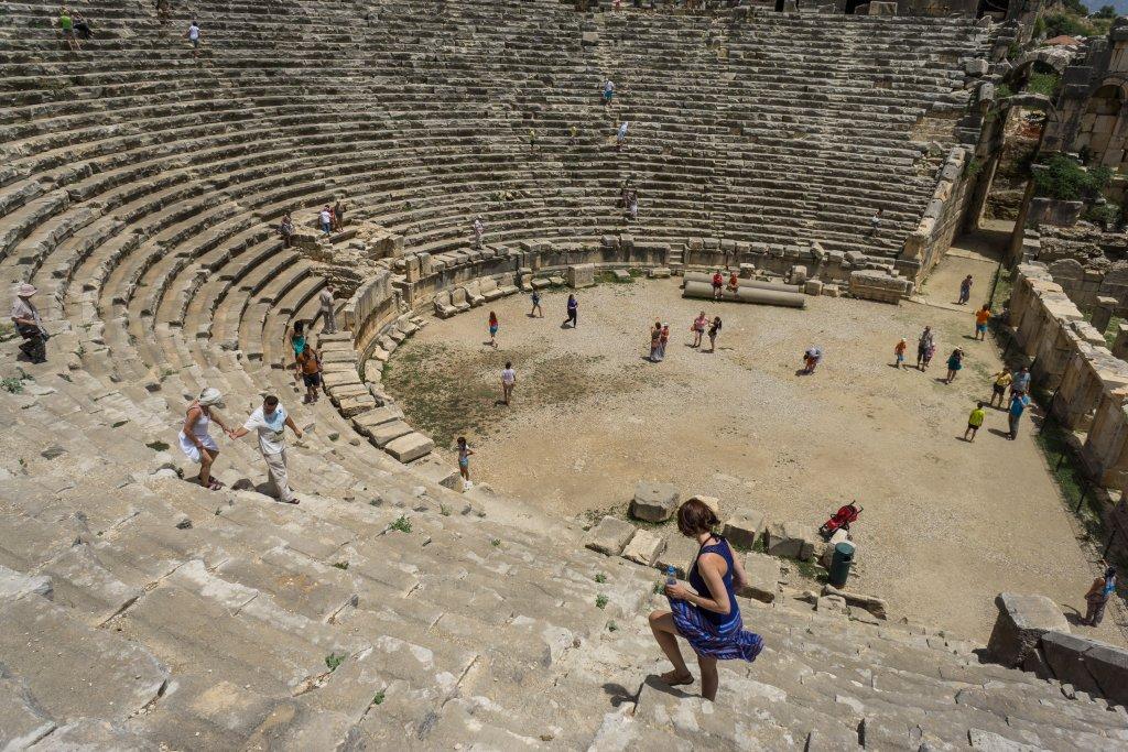 Амфитеатр в Турции