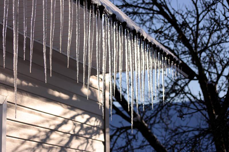 Зима - Сосульки