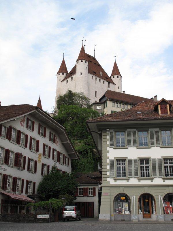 Швейцария, Замок среди домов