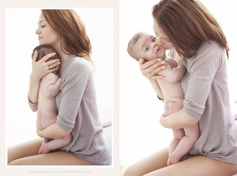 Детская фотосессия с мамой