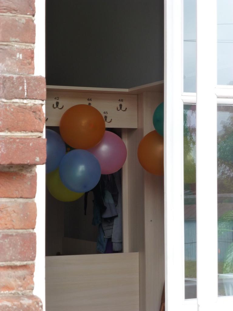 раздевалка для шариков