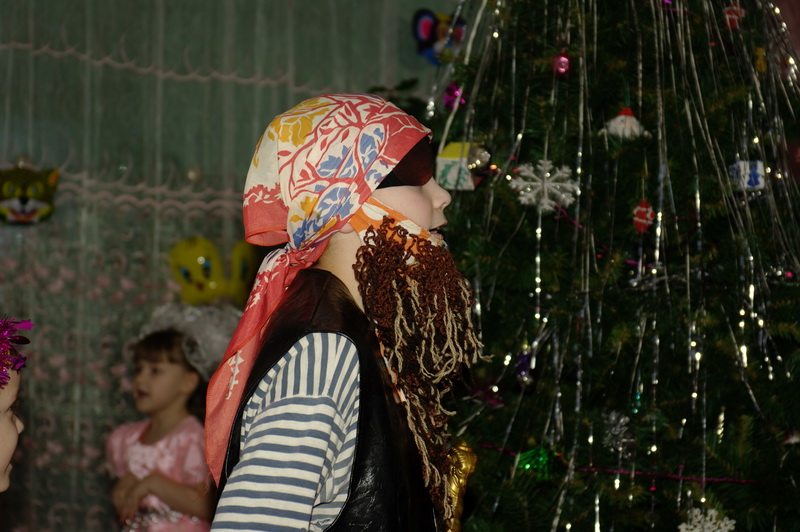 Новый год в детском доме 2010