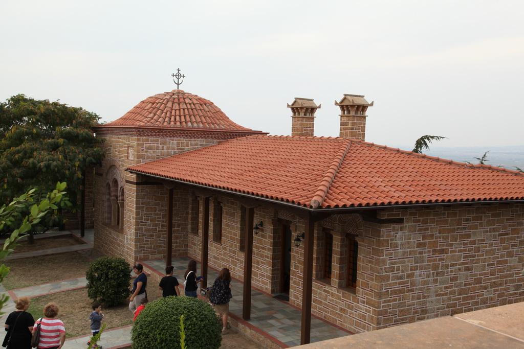 В монастыре Ап.Иоанна Богослова