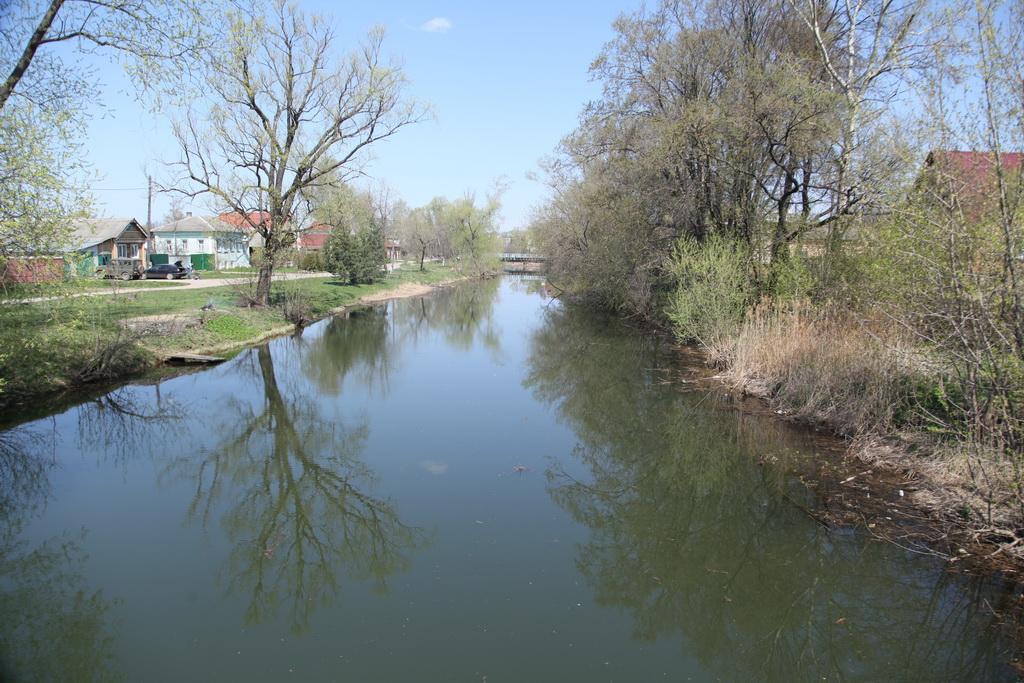 живописная река