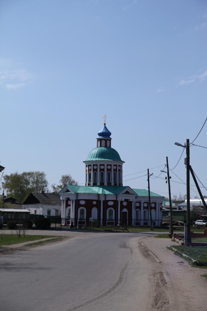 однокупольный храм