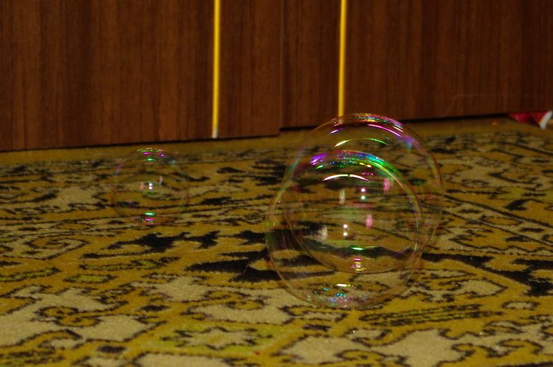 из серии мыльные пузыри:)