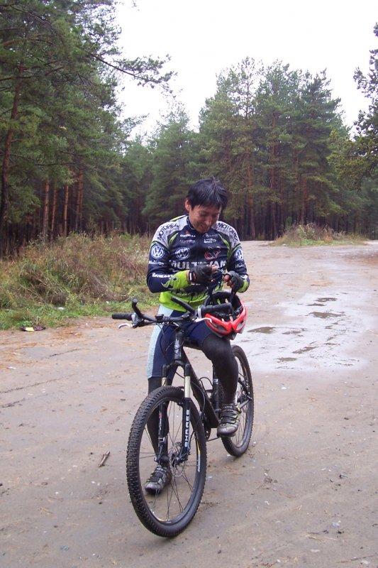 Байкер... велобайкер ))