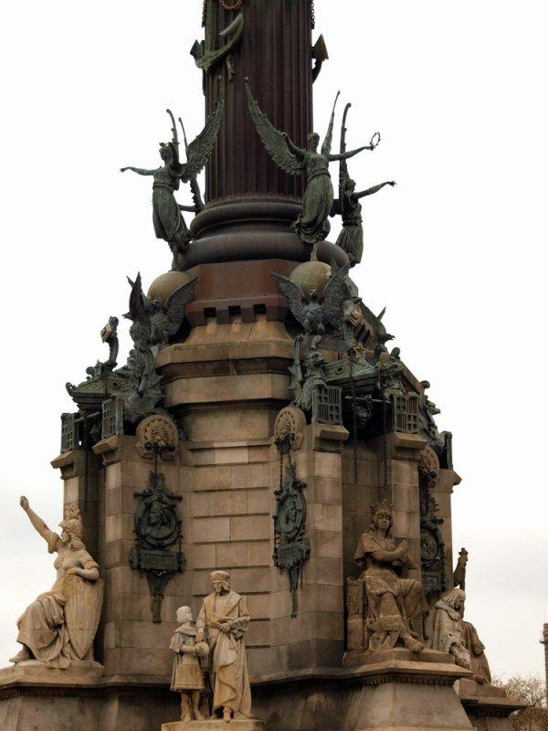 Памятник Колумбу!