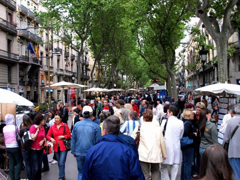 Улицы Барселоны!