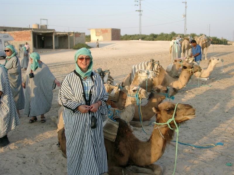 В пустыню на верблюдах