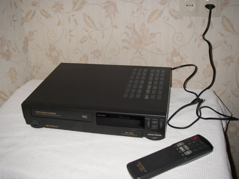 видеомагнитофон supra sv t23