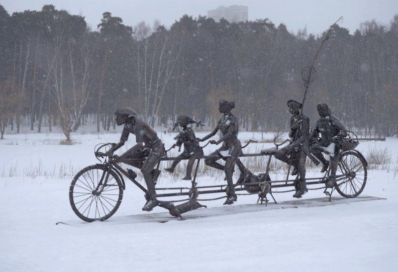 Снежные велопокатушки