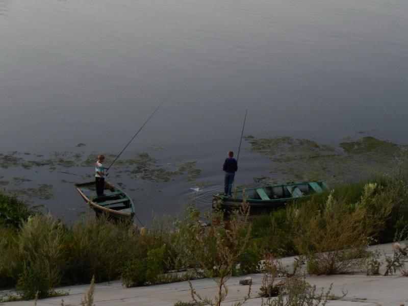 "Юные рыболовы (из цикла ""Рыбачий рай"")"