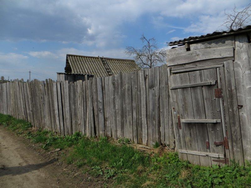 Старый забор (после войны построили)