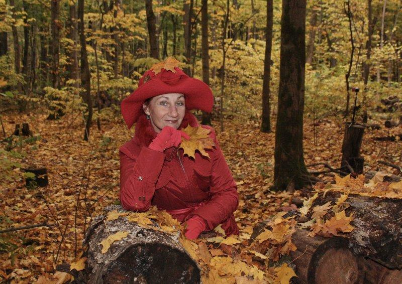 Мадам, уже падают листья