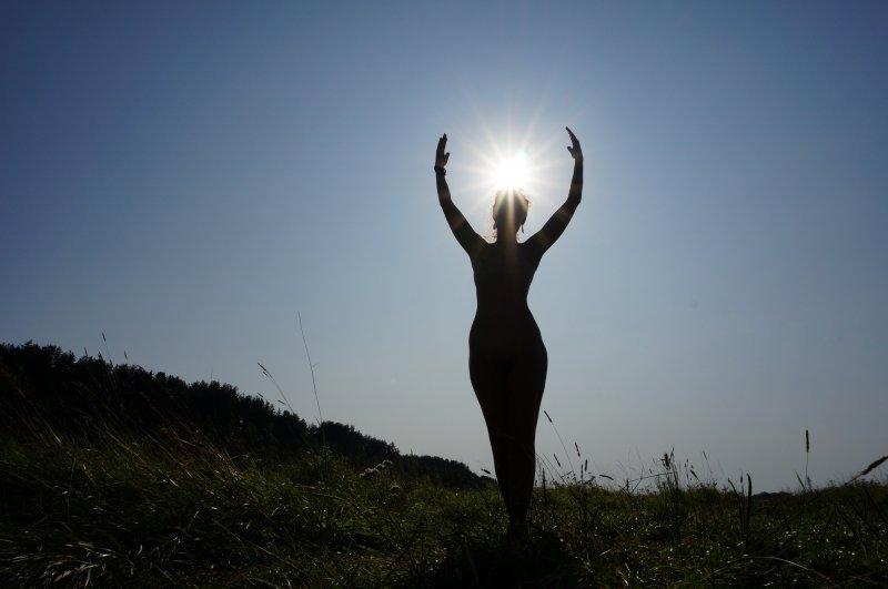 С солнцем в руках