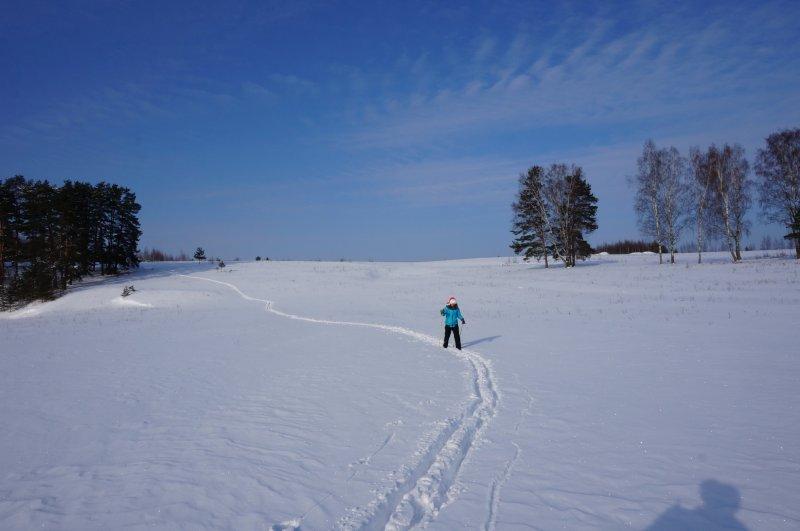 Далекая лыжня