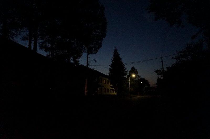 """Ночной сюжет (цикл """"Small-town lights"""")"""