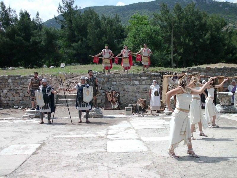 представление в эфесе