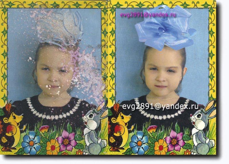 Фото до и после реставрации.