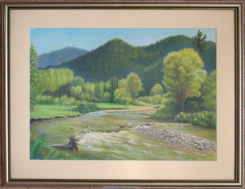 Горная река. Алтай